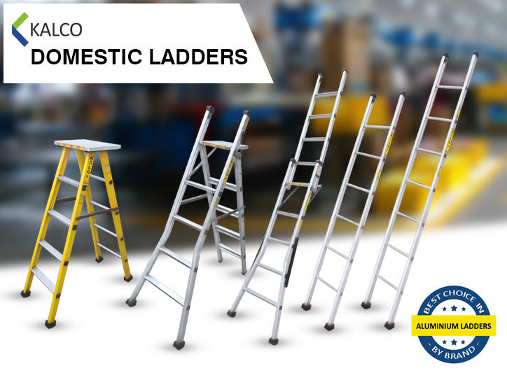 Kalco Domestic Aluminium Ladders