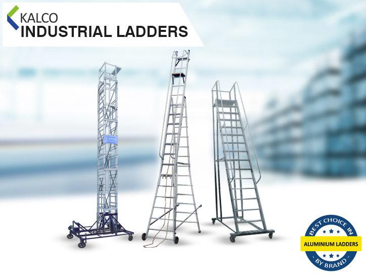 Kalco Industrial Aluminium Ladders