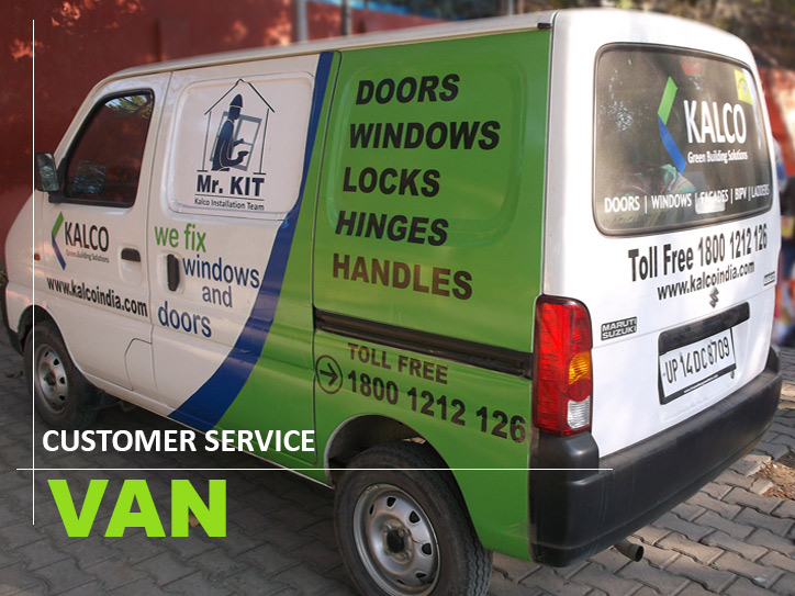 kalco-installation-customer-service-van